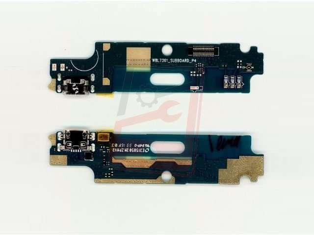 Placa cu conector alimentare Allview P9 Energy Mini