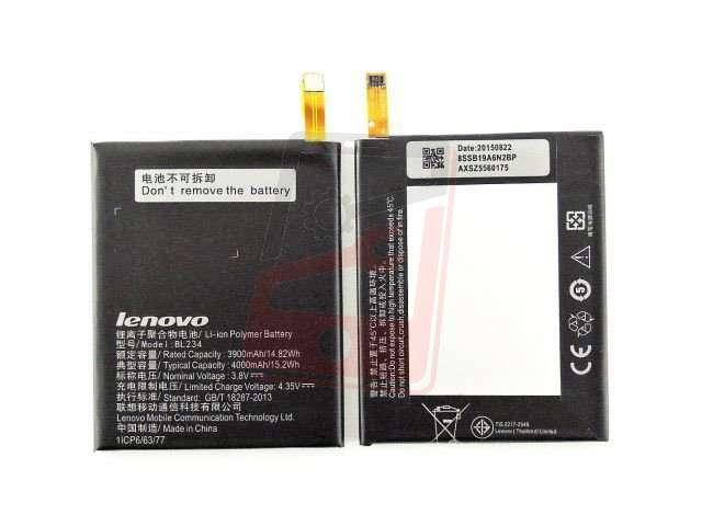 Acumulator Lenovo BL234 pentru Lenovo VIBE P1m, Lenovo A5000, Lenovo P70