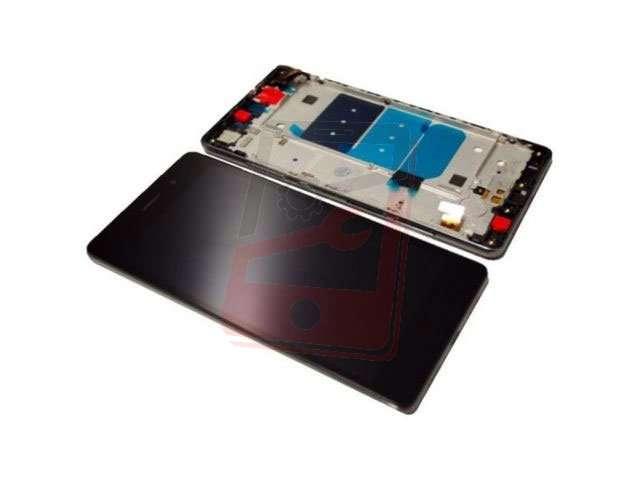 display cu touchscreen si rama huawei p8 lite ale-l21