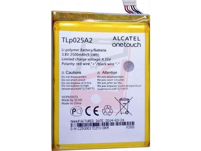 Acumulator Alcatel TLp025A2 original pentru Vodafone Smart Prime 6 4G, Alcatel Idol X+