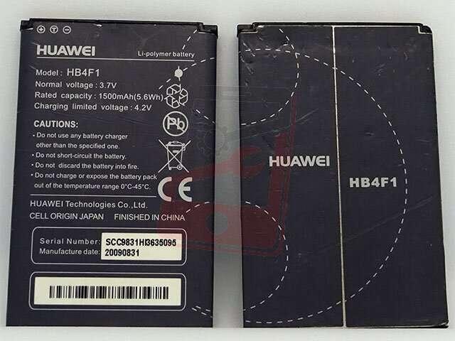 Acumulator Huawei HB4F1 original pentru modem Huawei