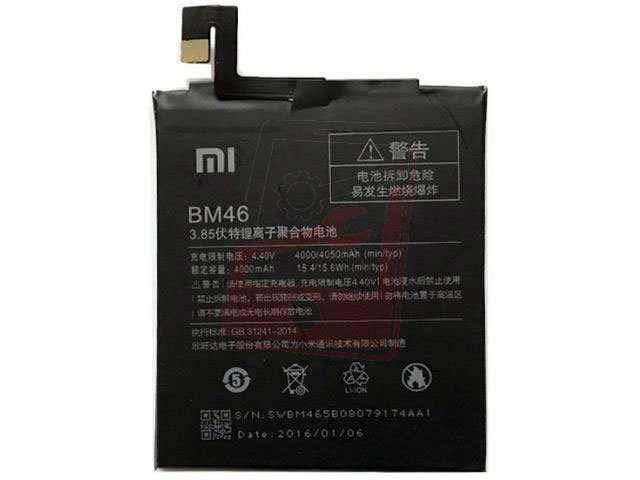 Acumulator Xiaomi BM46 original pentru Xiaomi Redmi Note 3