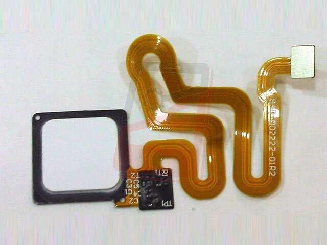 Ansamblu buton meniu, home Huawei P9, EVA-L19, EVA-L29, EVA-L09 alb