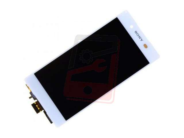 Display cu touchscreen Sony E6533, Xperia Z3 Plus, E6553, Z3 Plus Dual, Xperia Z4 alb