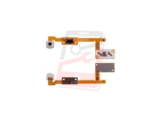 Banda cu buton meniu, home microcontact Samsung SM-T560 Galaxy Tab E 9.6