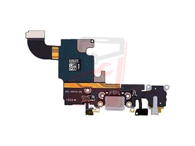 Banda cu conector alimentare Apple iPhone 6S Plus gri deschis