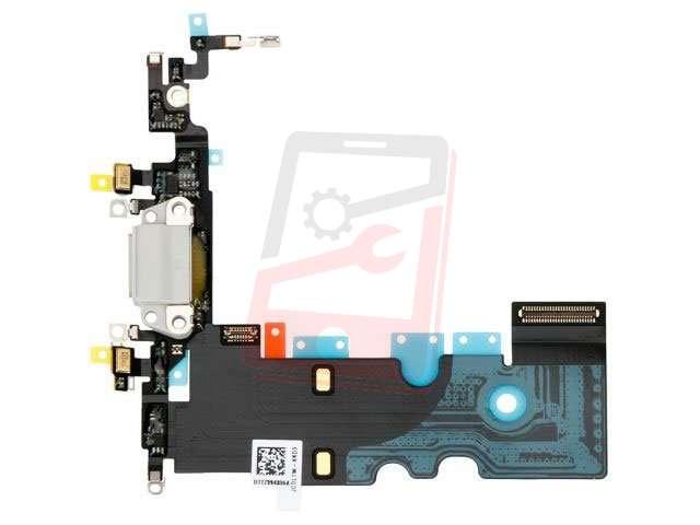 Banda cu conector alimentare Apple iPhone 8 alb