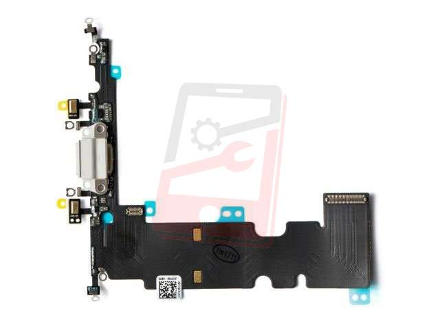 Banda cu conector alimentare Apple iPhone 8 Plus alb