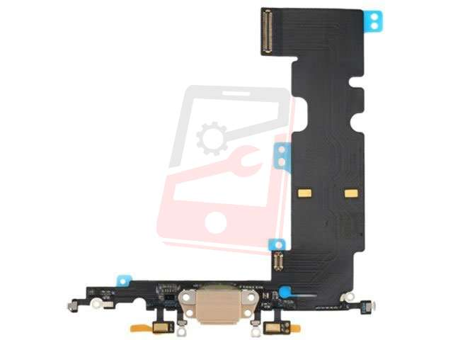Banda cu conector alimentare Apple iPhone 8 Plus auriu