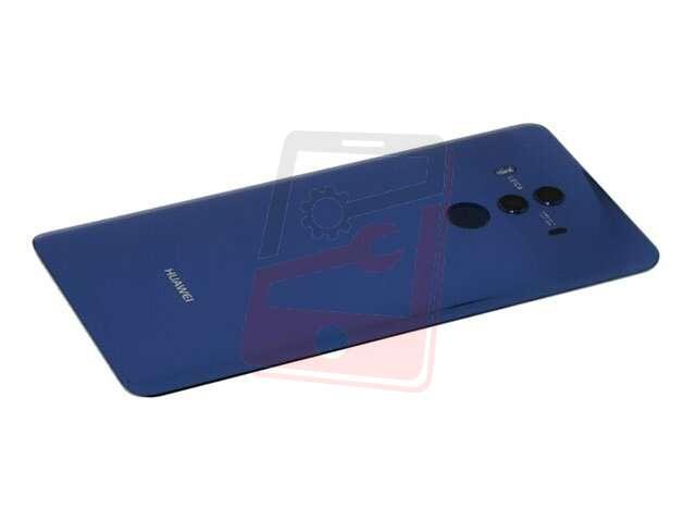 capac baterie huawei mate 10 pro bla-l09 bla-l29 albastru din sticla