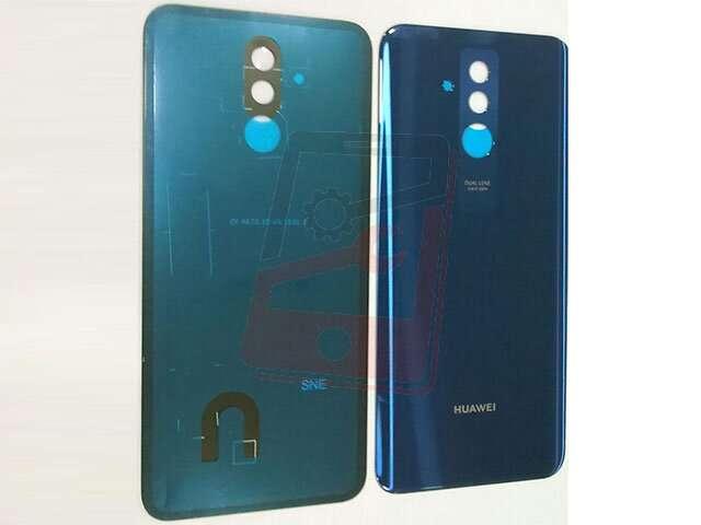 capac baterie huawei mate 20 lite sne-lx1 ds sne-lx3 ds ine-lx2 albastru din sticla