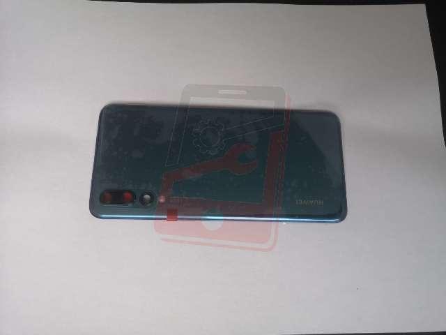capac baterie huawei p20 pro clt-l09 clt-l29 albastru din sticla