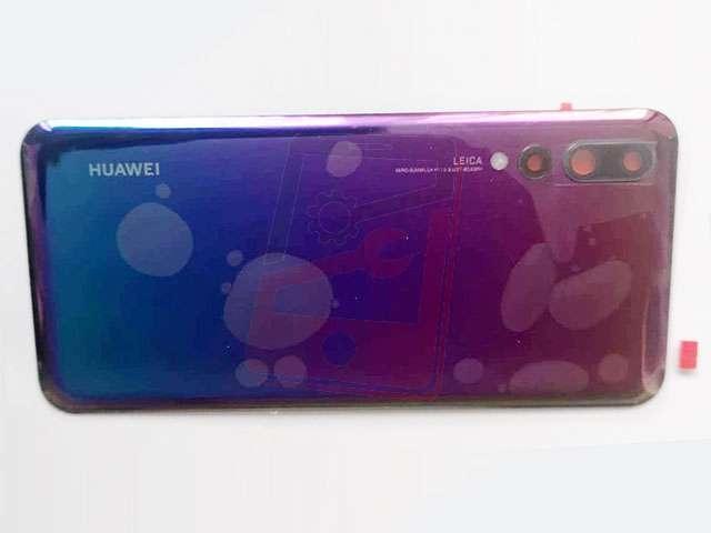 Capac baterie Huawei P20 Pro, CLT-L09, CLT-L29 mov (twilight) DIN STICLA