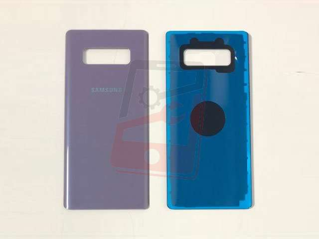 capac baterie samsung sm-n950f galaxy note 8 violet din sticla