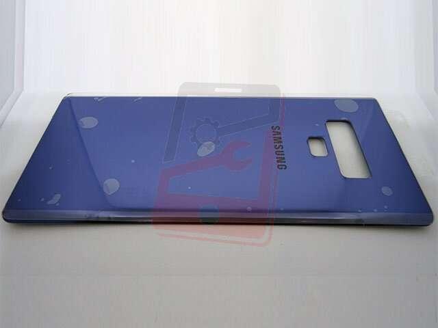 capac baterie samsung sm-n960f galaxy note 9 albastru din sticla
