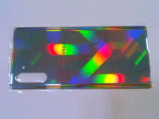 Capac baterie Samsung SM-N970F Galaxy Note 10 aura gold DIN STICLA