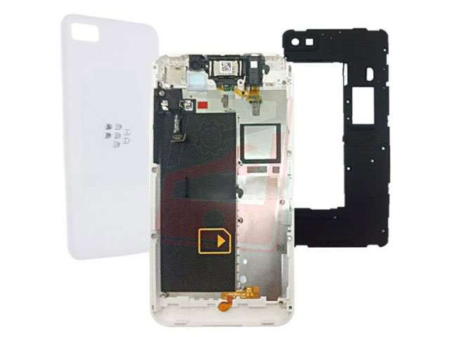 Carcasa BlackBerry Z10 4G alba