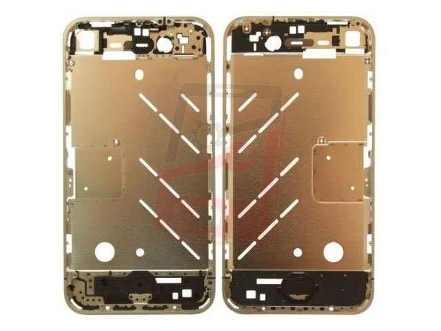 Carcasa mijloc Apple iPhone 4 argintie