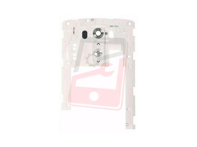 Carcasa mijloc LG D850, D851, D855, G3 alba
