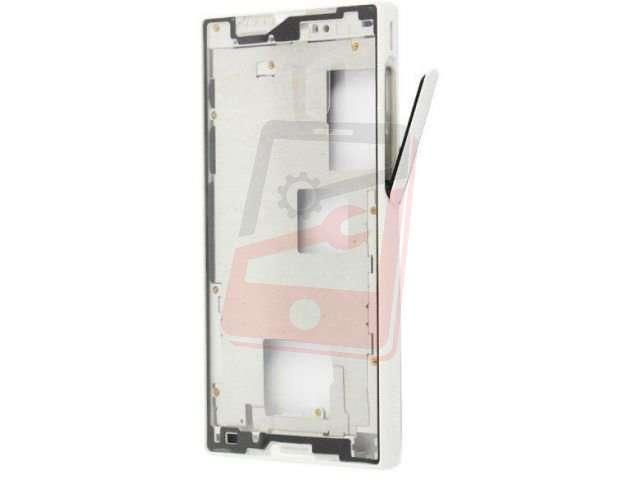 Carcasa rama mijloc Sony E5803, E5823, Xperia Z5 Compact alba