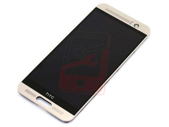 display cu touchscreen si rama htc one m9 plus argintiu