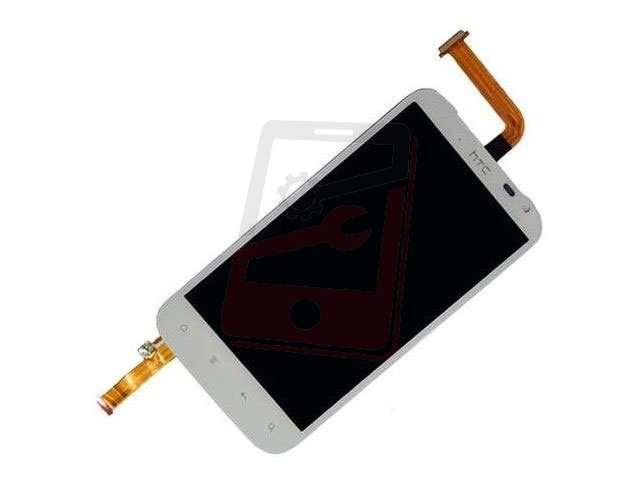 Display cu touchscreen HTC Sensation XL, Runnymede, G21, X315e alb