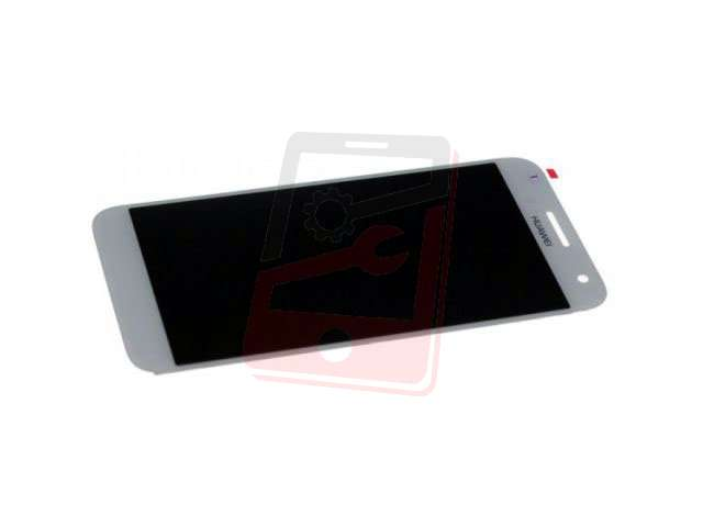 Display cu touchscreen Huawei Ascend G7 alb