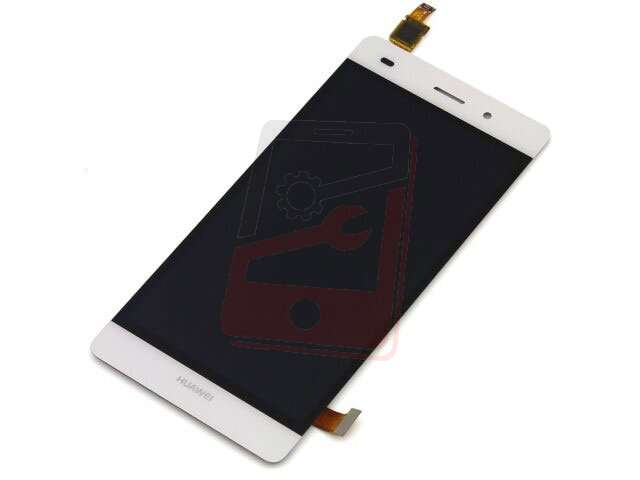 Display cu touchscreen Huawei P8 Lite ALE-L04 alb