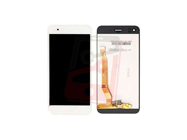 Display cu touchscreen Huawei P9 lite mini, Y6 Pro 2017 alb