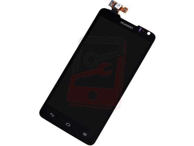 Display cu touchscreen Huawei U9510E, Ascend D1 Quad XL negru