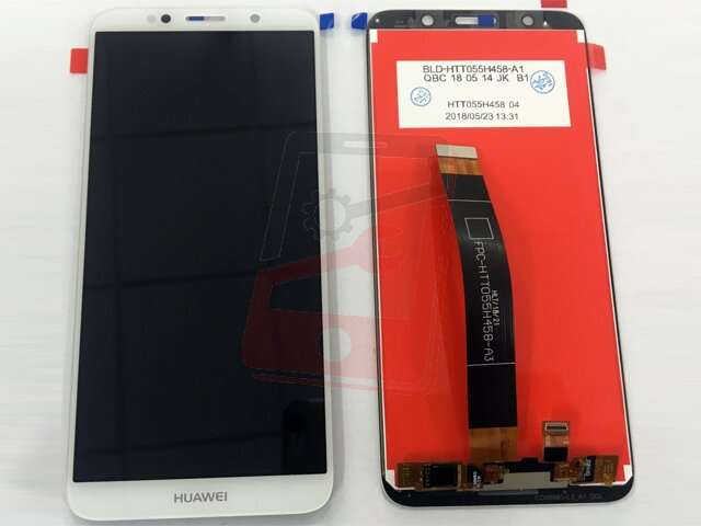 Display cu touchscreen Huawei Y5 (2018), Y5 Prime (2018), Enjoy 8e Youth, DRA-LX2, DUA-LX2, DRA-L01, DUA-L21 alb