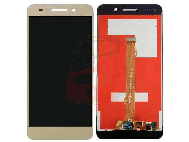 Display cu touchscreen Huawei Y6II Compact, Honor 5A, LYO-L01 auriu