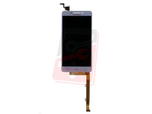 Display cu touchscreen Lenovo A5000 alb