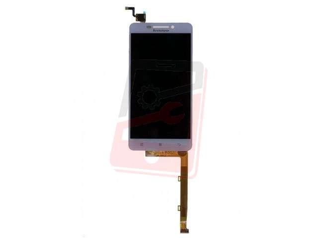Display cu touchscreen Lenovo A5000 alb