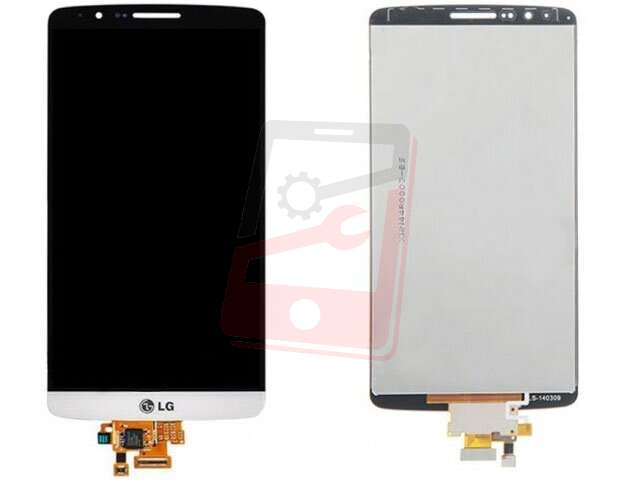 display cu touchscreen lg g3 alb