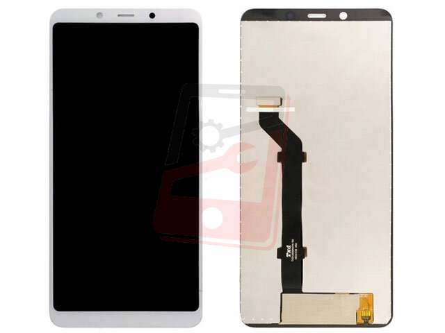 Display cu touchscreen Nokia 3.1 Plus, TA-1104, TA-1115, TA-1118, TA-1125 alb