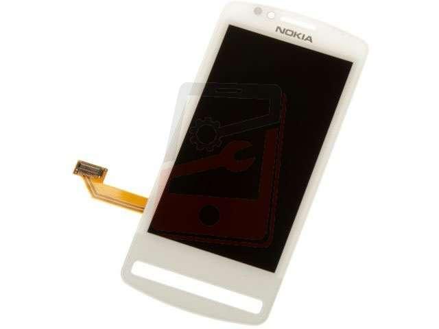Display cu touchscreen Nokia 700 alb