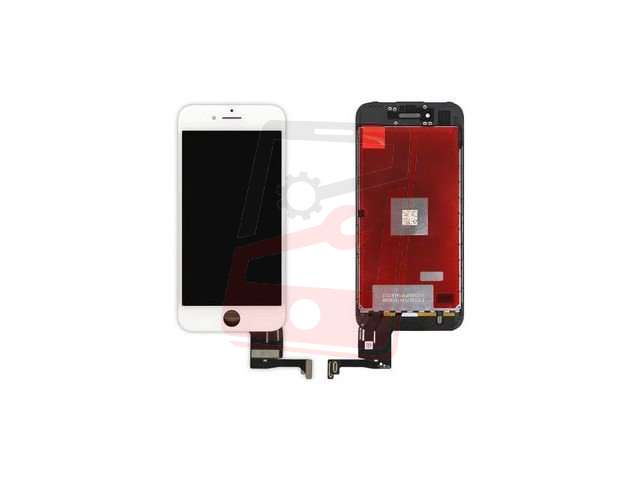 Display cu touchscreen si rama Apple iPhone 7 (4.7) alb