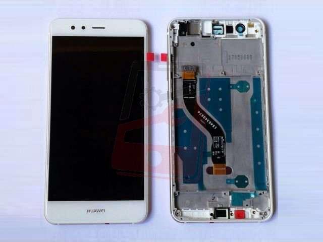 display cu touchscreen si rama huawei mate 10 lite rne-l01 rne-l21 rne-l23 g10 alb