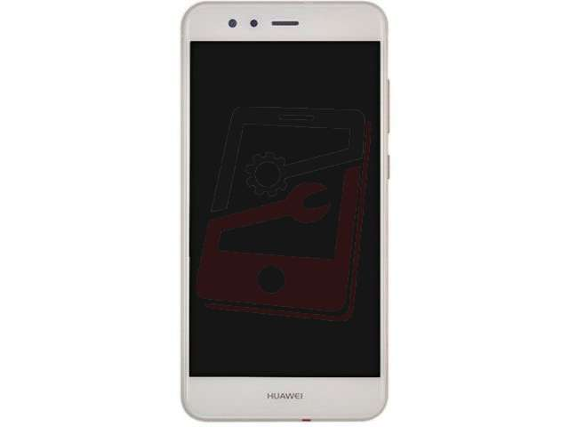 Display cu touchscreen si rama Huawei P10 Lite WAS-LX1, LX1A alb