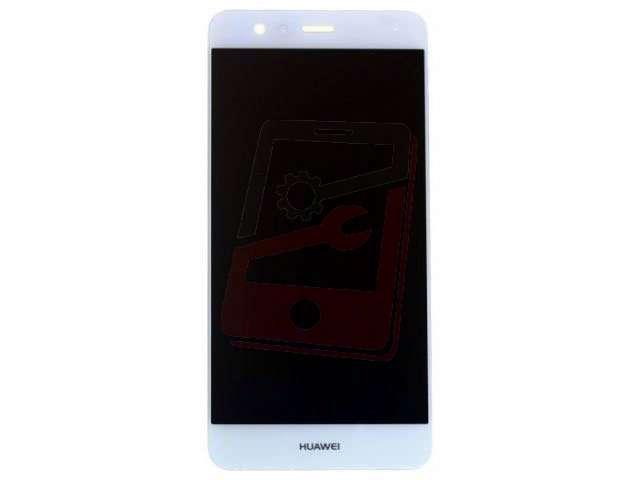 Display cu touchscreen si rama Huawei P10, VTR-L09, VTR-L29 alb