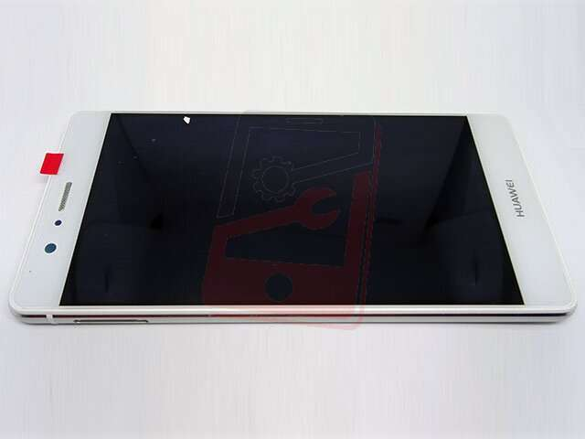 Display cu touchscreen si rama Huawei P9 Lite (VNS-L21), G9 Lite alb