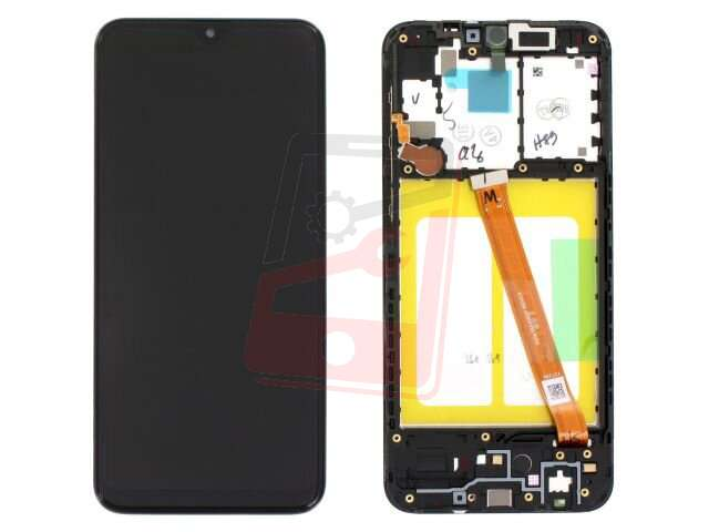 Display cu touchscreen si rama Samsung SM-A202F, Galaxy A20e original
