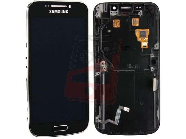 Display cu touchscreen si rama Samsung SM-C1010, SM-C101, Galaxy S4 zoom original