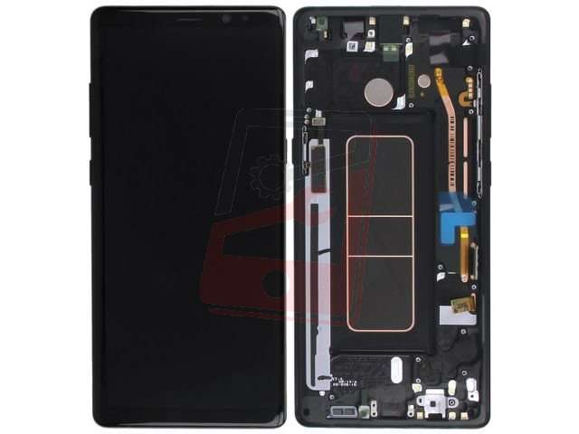 Display cu touchscreen si rama Samsung SM-N950F Galaxy Note 8 original