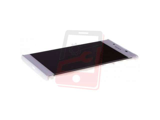 display cu touchscreen si rama sony g3311 g3312 g3313 xperia l1 alb