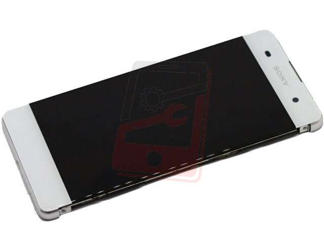 Display cu touchscreen si rama Sony Xperia XA, XA Dual, F3111, F3113, F3115 alb