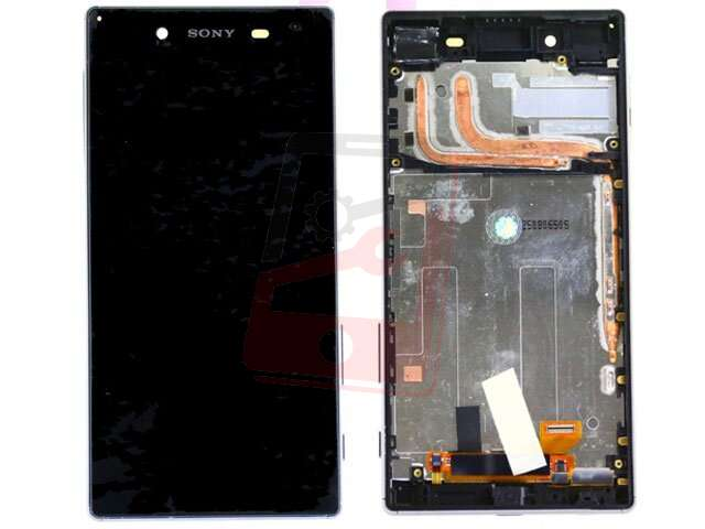 Display cu touchscreen si rama Sony Xperia Z5, Z5 Dual, E6603, E6633, E6653, E6683