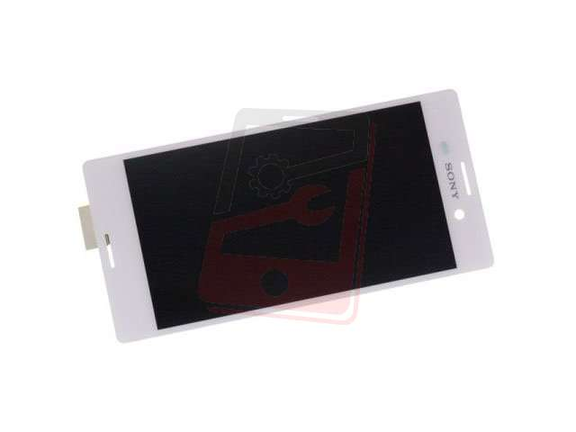 Display cu touchscreen Sony E2303, E2306, E2312, E233, E2353, E2363 Xperia M4 Aqua alb