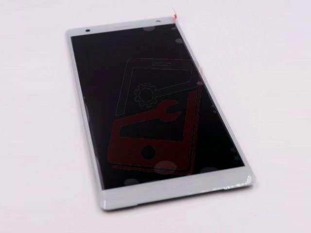 Display cu touchscreen Sony H8216, H8276, Xperia XZ2, H8266, H8296, Xperia XZ2 Dual SIM argintiu